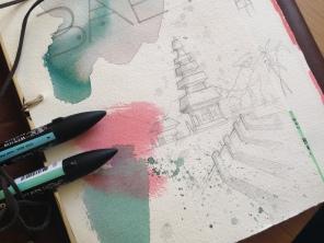 Apuntes, cuaderno de viaje, preparación al diseño_08