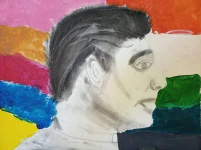 Retrato de Perfil Escuela de Arte Aravaca_07