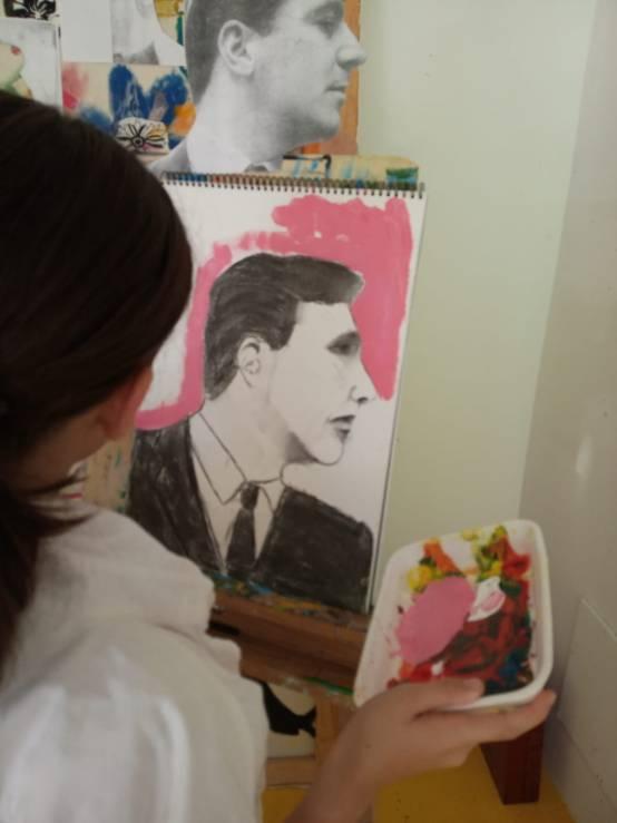 Retrato de Perfil Escuela de Arte Aravaca_06
