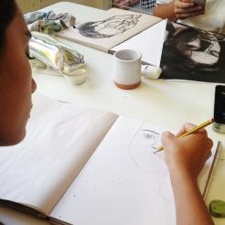 Pintura Adolescentes