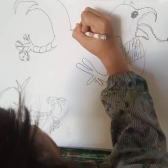 El jardín de las delicias El Bosco ESCUELALIMÓN Aravaca Clases de arte para niños y adultos-05