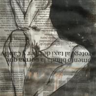 Tinta china sobre periódico ESCUELALIMÓN Aravaca-13