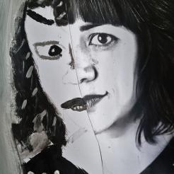 Retrato ESCUELALIMÓN Clases de pintura y dibujo para niños Aravaca_03