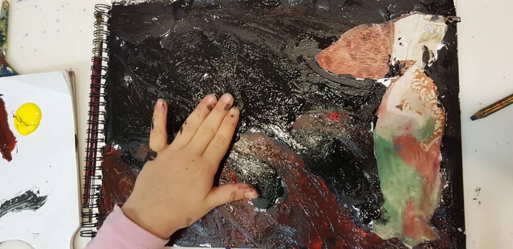 Arte y psicología ESCUELALIMÓN Aravaca Clases de pintura para niños_01