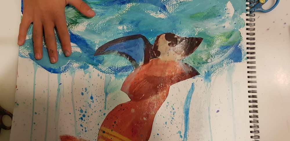 Arte y psicología ESCUELALIMÓN Aravaca Clases de pintura para niños_02