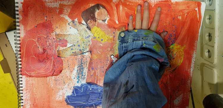 Arte y psicología ESCUELALIMÓN Aravaca Clases de pintura para niños_03