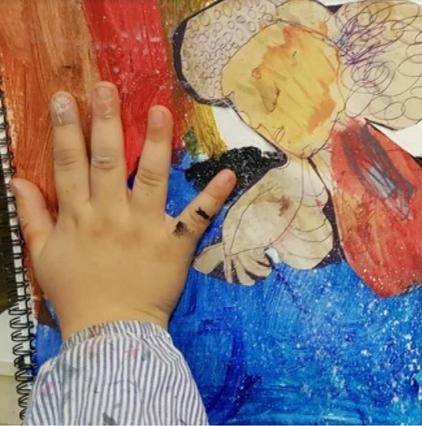 Arte y psicología ESCUELALIMÓN Aravaca Clases de pintura para niños_08