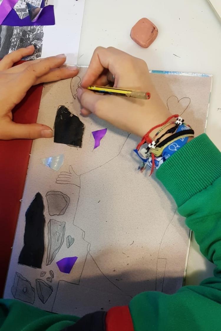 Diario de Magia en ESCUELALIMÓN Aravaca clases de arte para niños_11