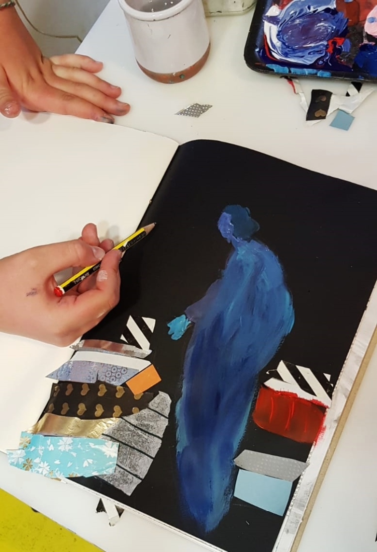 Diario de Magia en ESCUELALIMÓN Aravaca clases de arte para niños_13