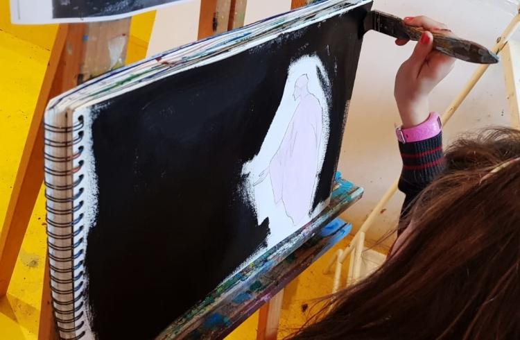Diario de Magia en ESCUELALIMÓN Aravaca clases de arte para niños_14