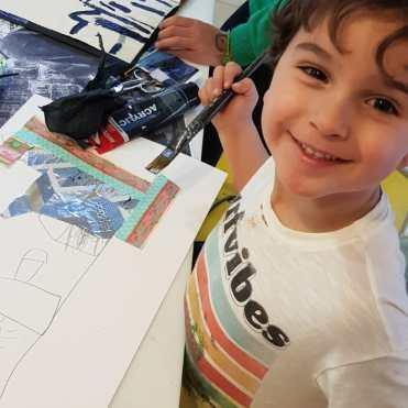 Diario de Magia en ESCUELALIMÓN Aravaca clases de arte para niños_17