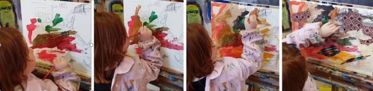 Diario de Magia en ESCUELALIMÓN Aravaca clases de arte para niños_25