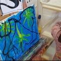 Salomé, Herodes y San Juan Bautista ESCUELALIMÓN Aravaca clases de pintura para niños-18