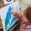 Salomé, Herodes y San Juan Bautista ESCUELALIMÓN Aravaca clases de pintura para niños-21