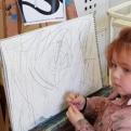 Salomé, Herodes y San Juan Bautista ESCUELALIMÓN Aravaca clases de pintura para niños-22