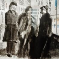 Tinta china sobre periódico ESCUELALIMÓN Aravaca-16